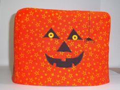 Halloween Toaster Cover Jack O Lantern by PatsysPatchwork on Etsy