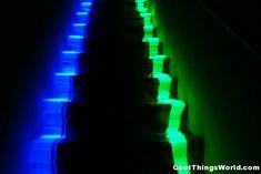 school steps glow in the dark party ideas - Google Search