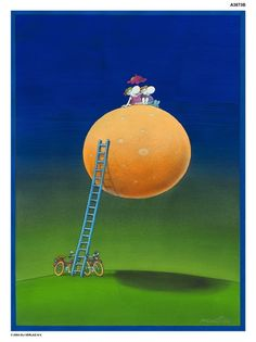 An Improbable Rendez-Vous Limited Edition Print available from www.mordillocollection.com