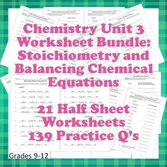 stoichiometry limiting reactant worksheets set of 2 equation relationships and mole. Black Bedroom Furniture Sets. Home Design Ideas