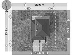 Projekt domu Piryt - murowana – beton komórkowy 164 m2 - koszt budowy - EXTRADOM Bathroom Lighting, Dom, Mirror, Architecture, Home Decor, Ideas, My Dream House, House, Bathroom Light Fittings