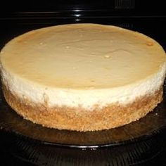 PHILADELPHIA New York Cheesecake. I made this cheesecake in my ge cafe dual fuel oven, it turned out perfect!