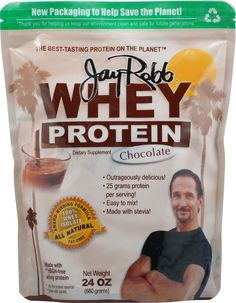 Jay Robb Whey Protein Powder Chocolate
