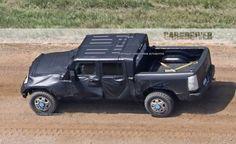 2018 Jeep Wrangler Pickup spy photos | Car Spy Photos