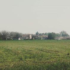 San Secondo P.se (PR): Il borgo arrivando da Roccabianca #sansecondoparmense #medioevo #rinascimento #parma #italy🇮🇹 #bassa #fortificazioni
