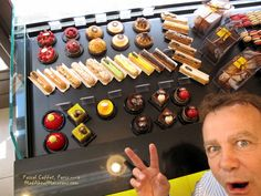 Pascal Caffet, winning pastry chef and chocolate maker in Paris and Troyes. Come for a tasting in his store in the 16th in Paris, rue Duban or online at the link above.