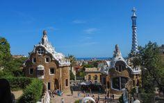 Park Güell, Barcelona. It's like being in a wonderland.