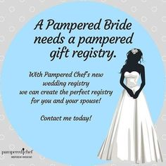 c95131fbd706 I am so excited to announce that Pampered Chef now has a GIFT REGISTRY! Do