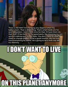 Man, I really don't want to live on this planet anymore :'/