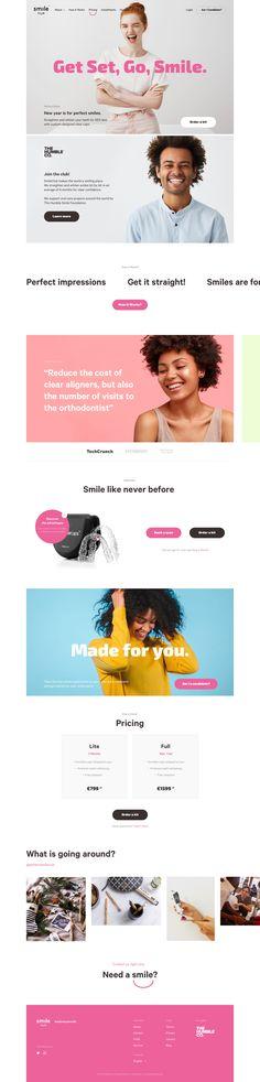 Perfect Smile, Presentation, Web Design, Design Web, Website Designs, Site Design