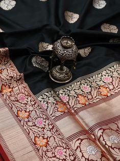 Sacred Weaves - Shop for Exquisite Banarasi Sarees Online Banarsi Saree, Kanchipuram Saree, Handloom Saree, Katan Saree, Weave Shop, Bengali Saree, Gold Smokey Eye, Silk Sarees With Price, Full Hand Mehndi Designs