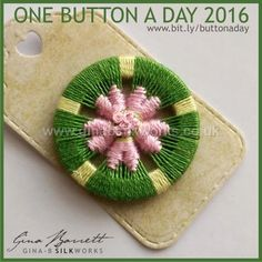 Day 82...... For those you just started in this group. Gina is presenting her handmade buttons daily. on FACEBOOK.