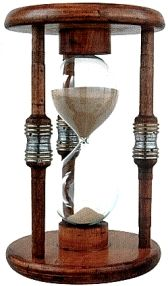 Sands of time ... 60 minute timer... totally love, want, need