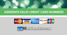 secured credit card Valid Credit Card Generator and Validator Credit Card App, Amazon Credit Card, Credit Card Hacks, Best Credit Cards, Money Generator, Gift Card Generator, Number Generator, Visa Card Numbers, Capital One Credit Card