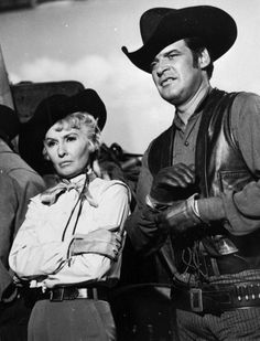 """Barbara Stanwyck """"The Big Valley"""" 1960s TV series"""