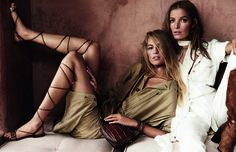 Massimo Dutti | The Spring Summer 2015 Campaign photograph by Mario Testino