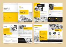 I will create amazing company profiles Company Profile Template, Company Profile Design, Branding Services, Presentation Design, Business Presentation, Business Company, Graphic Design Services, Design Reference, Brochure Template