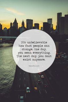 People change quote