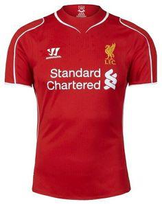 Liverpool 2014-15 Warrior Home