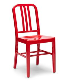 Take A Look At This Red Aluminum Crane Chair   Set Of Two On Zulily Today