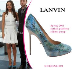 want her turquoise Lanvin shoes... and her date ;)