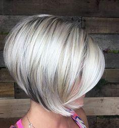 Bob Platinum Blonde Hair