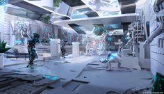 Personal Work- Sai Sei Lab Breach by Gavin Grigsby | Sci-Fi | 2D | CGSociety