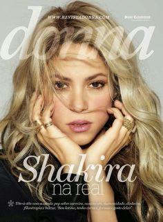 ~ To celebrate the release of her #RockByShakira fragrance, Shak is the cover star of the new Donna magazine in Brazil. ~ Para celebrar el lanzamiento de su nueva fragancia, Rock!, Shak está en la...