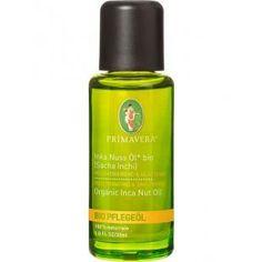 Inka Nuss Öl* bio (Sacha Inchi), 30ml von Primavera Inka Nuss Öl* bio ist das flüssige Urwaldgold. Es hat den  höchsten bekannten Anteil an mehrfach ungesättigten Omega-3 und Omega-6 Fettsäuren sowie an Vitamin E.  Für reife, sensible Haut ist Inca-Inchi-Öl, das auch Sacha-Inchi-Öl genannt wird, perfekt, da es zellregenerierende und zellaktivierende Eigenschaften hat. Bei fettiger Haut wirkt es ausgleichend.