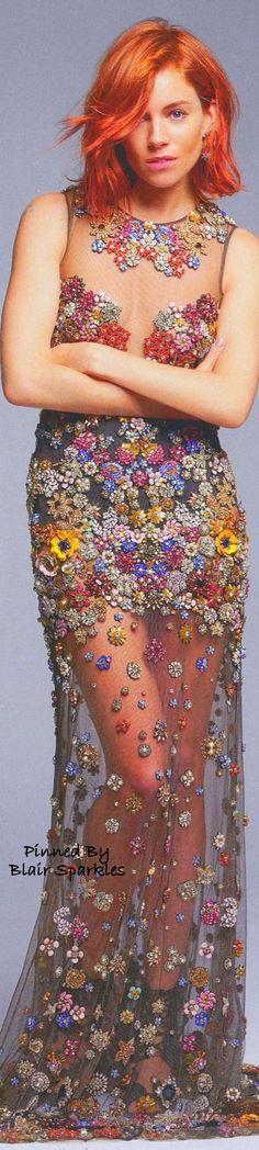 Sienna Miller Harpers Bazaar  ♕♚εїз | BLAIR SPARKLES |