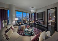 Mandarin Oriental, New York Debuts New HOK-Designed Suites Best Interior, Luxury Interior, Interior Design, Modern Interior, Interior Architecture, Saint James Paris, Paris Bordeaux, York Hotels, Design Suites