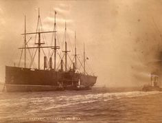 The GREAT EASTERN at Liverpool, August 25, 1886