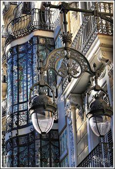 Lampadaire dans Paris