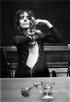 Alice Cooper, 1971 | © Barrie Wentzell