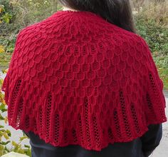 Betelgeuse - a fingering weight cables and lace shawlette Shawl Patterns, Knitting Patterns, Light Pollution, Circular Needles, Finger Weights, Knitted Shawls, Ravelry, Eye Candy, Fashion Accessories