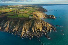 Paysages de le Manche, le littoral de Basse Normandie, le bocage normand, le Parc des marais du Bessin et du Cotentin