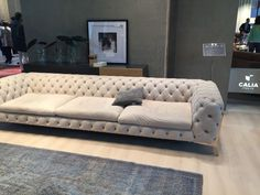 Calia Italia Gray Sofa