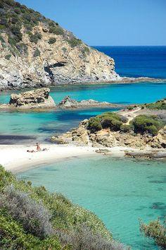 Cardulinu Beach, Chia , Sardinia ,Italy