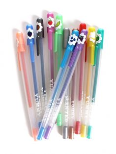 Yummy Glitter Gel Pens Set
