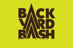 back yard bash. #mountain #grass #logo