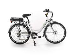 #ebike - bici elettrica - LYRA è la nostra bicicletta elettrica dal rapporto qualità/prezzo invidiabile! Basata su telaio e componentistica del modello Venus, è una bici facile, sicura e divertente che vi condurrà agevolmente per tutte le vie della città e vi permetterà una particolare attenzione al portafoglio.
