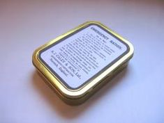 WW1 Food Rations Labels : Emergency Ration Tin by Caley 1916
