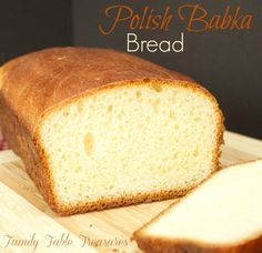 Polish Babka Bread {Celebrating Our Heritage Series}