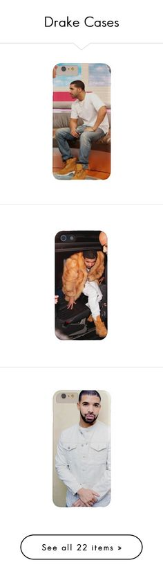 """Drake Cases"" by tweetiebabiee ❤ liked on Polyvore featuring accessories, tech accessories, phones, cases, phone cases, iphone cover case, iphone sleeve case, electronics, fillers and iphone case"
