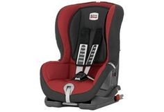 Britax Duo Plus Child Car Seat Chili Pepper