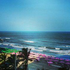 Playa Bocagrande en Cartagena de Indias, Bolívar