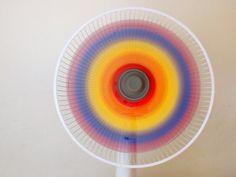Pink Stripey Socks: Paint a rainbow fan