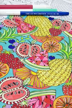 I am having so much fun creating coloring downloads for you guys and Ihavereceivedso much wonderfulfeedback thatI've decided to offer a free coloring page every week for the summer (at least I am
