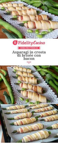 Asparagi in crosta di brisée con bacon #FingerFoods