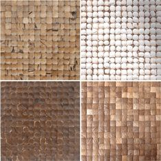Options for sustainable coconut tile